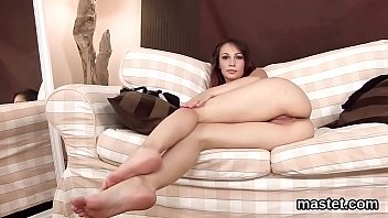 girls czech lucie French pedicure toes