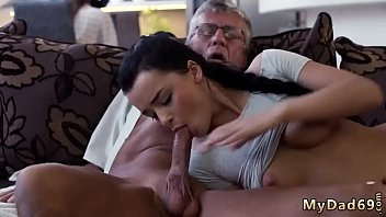 daughter daddy father humiliates Worm in peehole