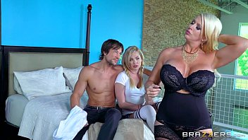 fuking on bed while daughters sleep mom dad Skinny hot blonde video from job 1829